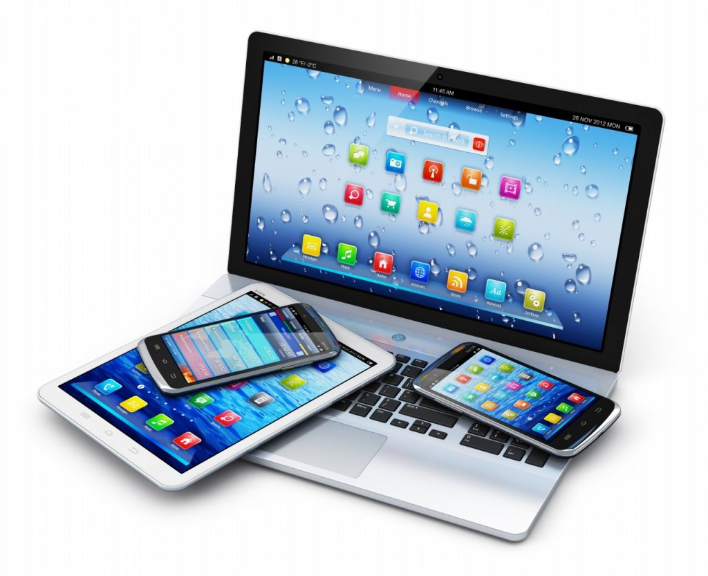 mobile devices apple android windows